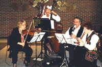 Performance at the annual Very Special Arts event, at Middlesex County College, 2001.