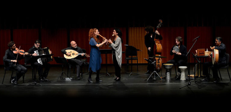 Daphna Mor Performing